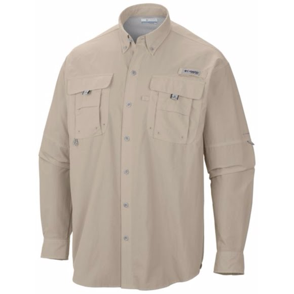 Columbia Bahama Long Sleeve Shirt (Tall) Image