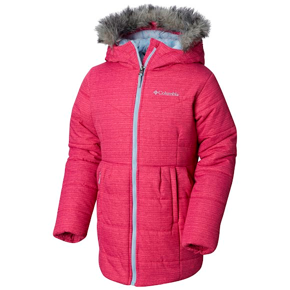 Columbia Girl's Youth Crystal Caves Mid Jacket Image