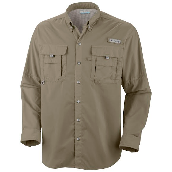 Columbia Men's Bahama II Long Sleeve Shirt (Extended Sizes) Image