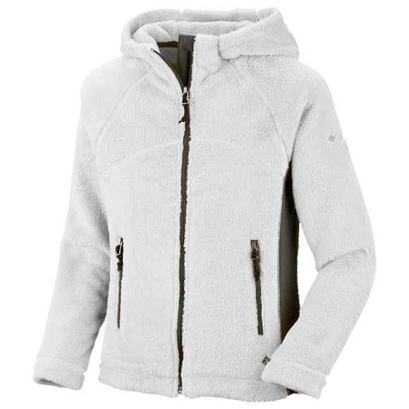 Columbia Girls Preschool Pearl Plush Hoodie Image