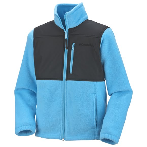 Columbia Youth Girls Ballistic Fleece Jacket Image