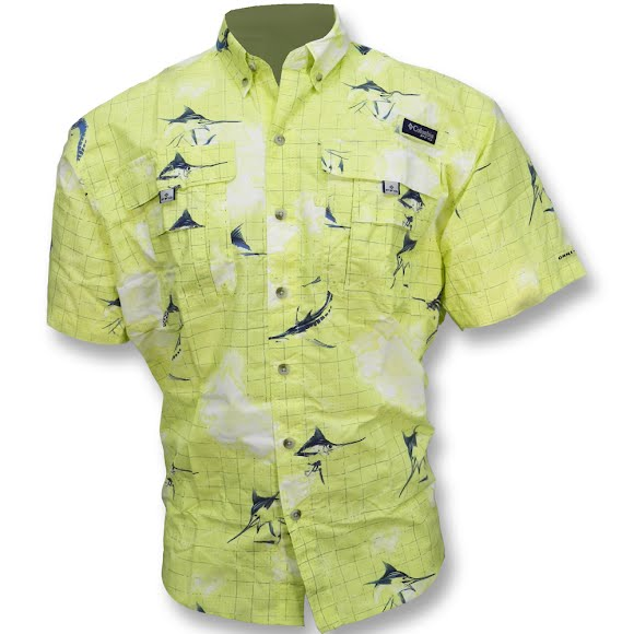 Columbia Men's Super Bahama Shortsleeve Shirt Image