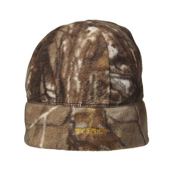 Hot Shot Mens Caliber Camo Fleece Beanie Image
