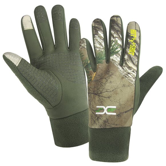 Hot Shot Men's Grazer Camo Gloves Image