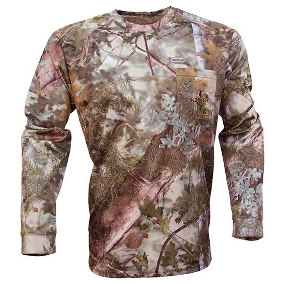 King's Camo Men's Hunter Series Long Sleeve T-Shirt Image