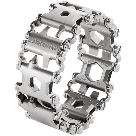 Leatherman Tool Tread Multi-Tool Bracelet (Stainless Steel) Image
