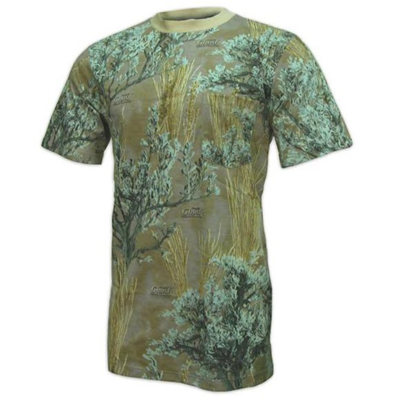 World Famous Men's Short Sleeve Camo Tee Image