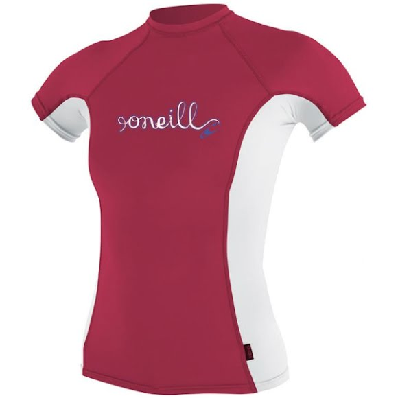 Oneill Youth Girls Short Sleeve Rashguard Image