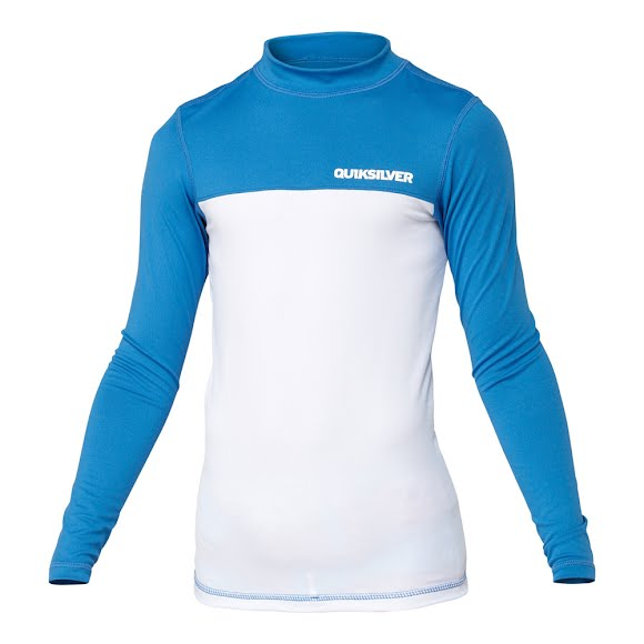Quiksilver Boy's Youth Chop Block Long Sleeve Rashguard Image