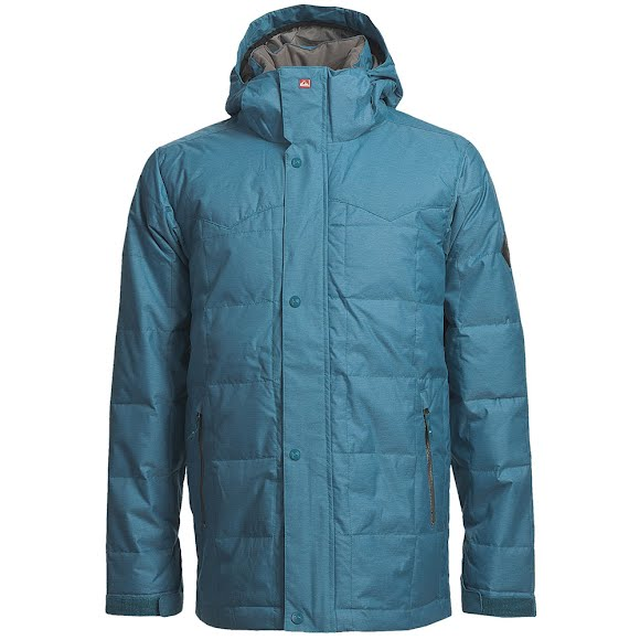Quiksilver Snow Men's Caiman Down Jacket Image