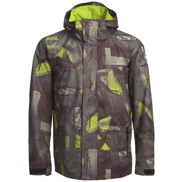 Quiksilver Men's Last Mission Print Jacket Image