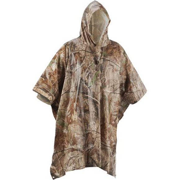 remington camo rain poncho