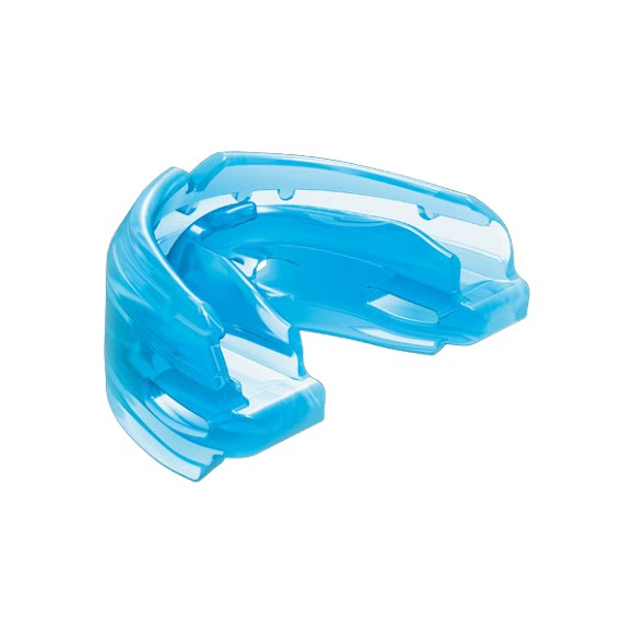 Shock Doctor Double Braces Mouthguard with Helmet Tether Image