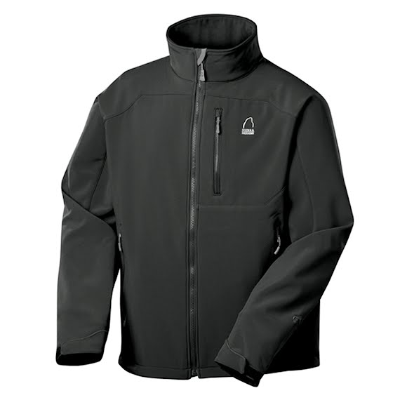 Sierra Designs Mens Bullseye Softshell Jacket Image