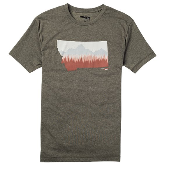 Sitka Gear Born in Montana Tee Image