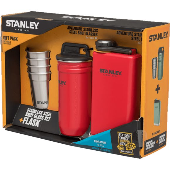 Stanley Adventure Steel Shots + Flask Gift Set Image