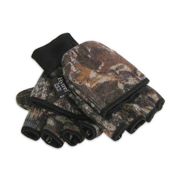 Hot Fingers Mens Camouflage Rag Wool Glomitt Image