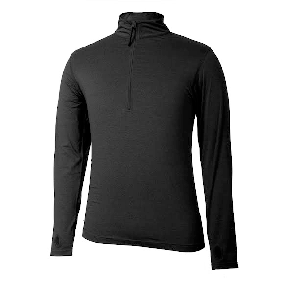 Terramar Mens 1/2 Zip Thermolator II Top Image
