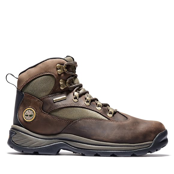 Timberland Mens Chocorua Trail Mid Waterproof Hiking Boot 15130 Brown
