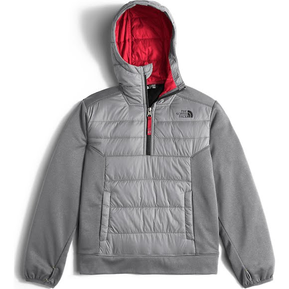 The North Face Boy's Youth Mak 1/4 Zip Hoodie Image