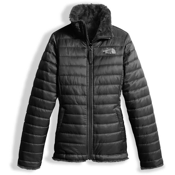 The North Face Girl's Youth Reversible Mossbud Swirl jacket Image