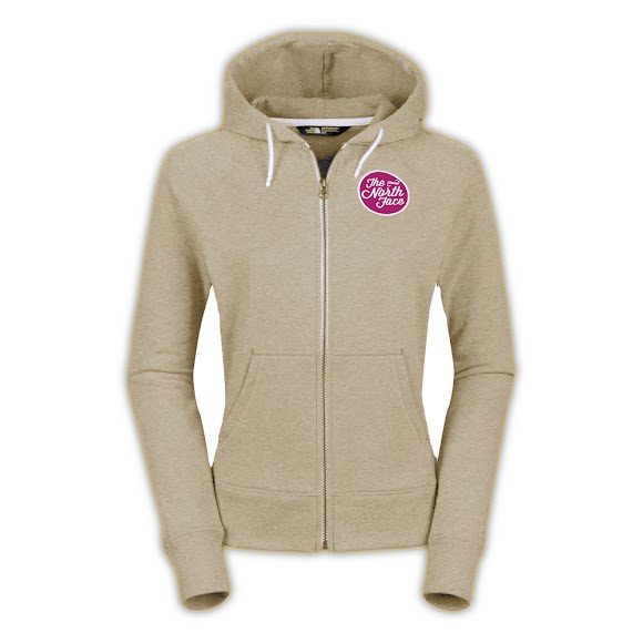 14aef990a The North Face Women's Continuous Logo Patch Fullzip Hoodie