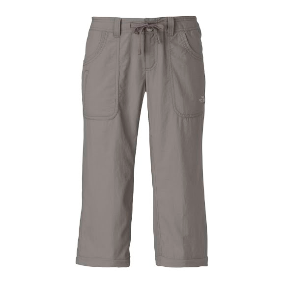 Women's Clothing Womens The North Face Gray Hiking Trail Zip Off Convertible Belt Pants 6 X 31 The Latest Fashion