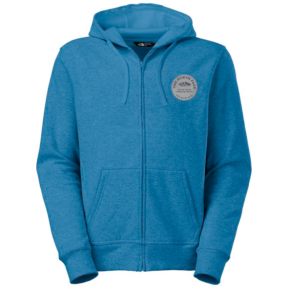 58549be8b The North Face Men's Alpish Logo Patch Full Zip Hoodie