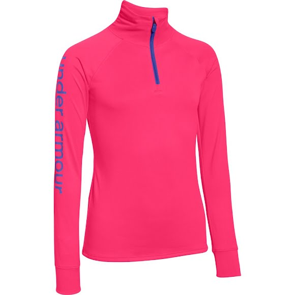 Under Armour Girl's Youth Tech 1/4 Zip Image