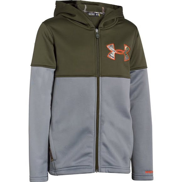 Under Armour Boy's Youth UA Storm Caliber Hoodie Image