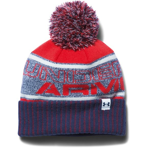 Under Armour Mountain Boy's Youth Pom Beanie Image