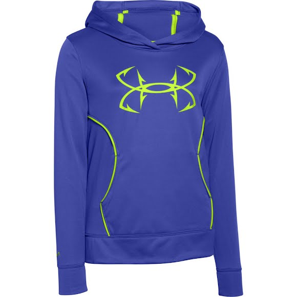 Under Armour Girl's Youth Fish Hook Fishing Hoodie Image
