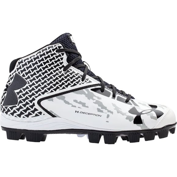 Under Armour Men's Deception Mid RM Baseball Cleat Image