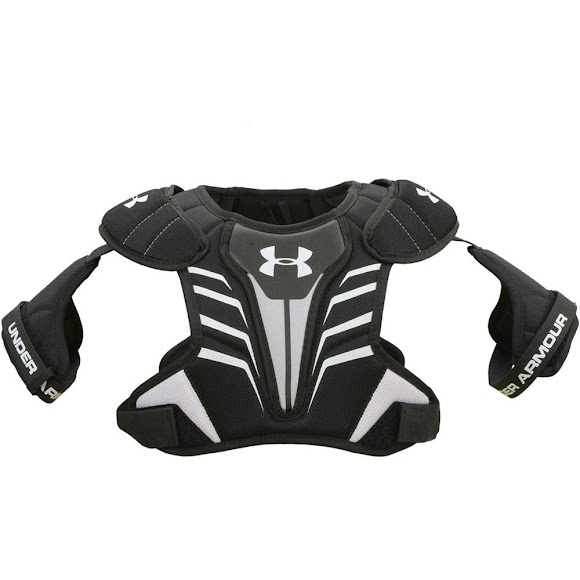 new styles b2444 e57ef Under Armour UA Strategy Lacrosse Shoulder Pads Image