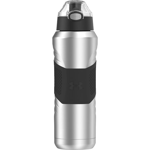 1cd877c409 Under Armour Dominate 24oz Vacuum-Insulated Water Bottle w/ Flip Top Lid