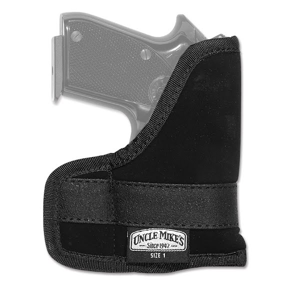 Uncle Mike`s Inside-The-Pocket Holsters (Size 4