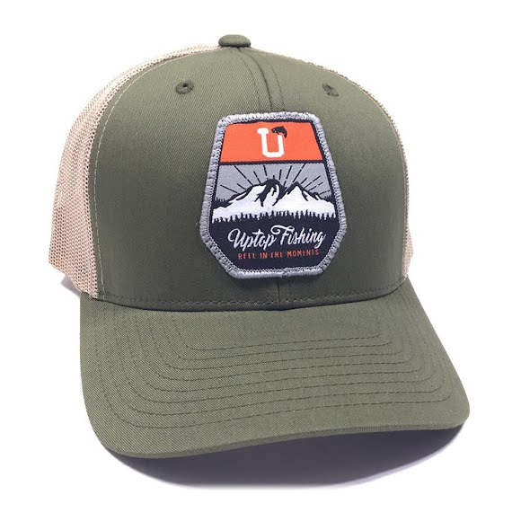 Uptop Fishing 2.0 Retro Trucker Hat Image