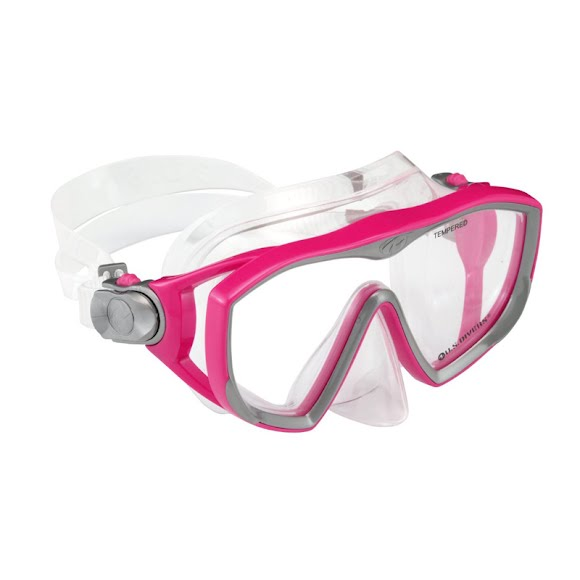 Us Divers Adult Women's Diva LX Snorkel and Mask Combo Image