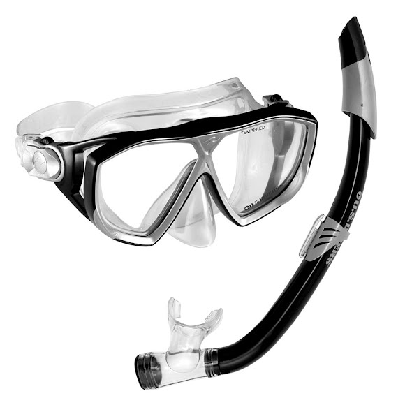 Us Divers Na Pali Mask and Seabreeze Snorkel Image