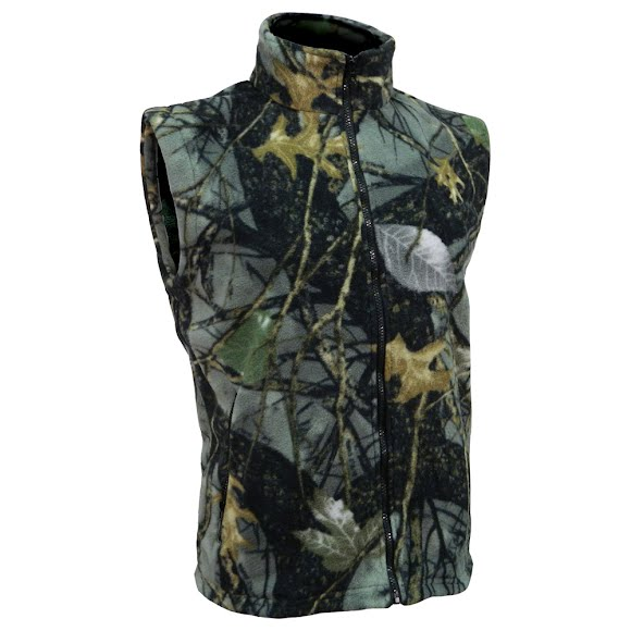 World Famous Fleece Camouflage Vest Image