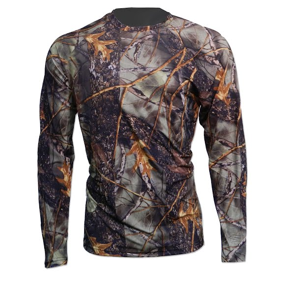 World Famous Camo Athletic Baselayer Shirt Image
