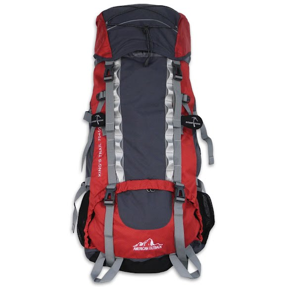 World Famous King's Trail 70L+10L Internal Frame Backpack Image