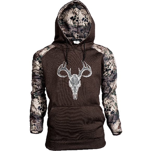 World Famous Men's Prym1 Skull Hoodie Image