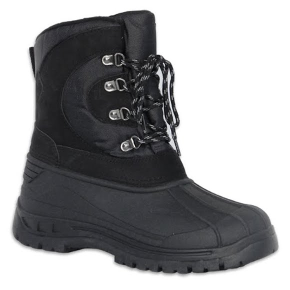World Famous Boys Youth Snowplow Winter Boots Image