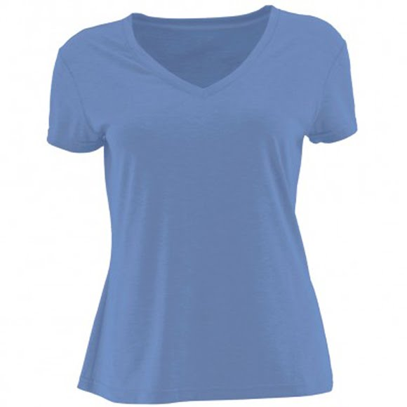 White Sierra Women's Heather Tahoe II Tee Image