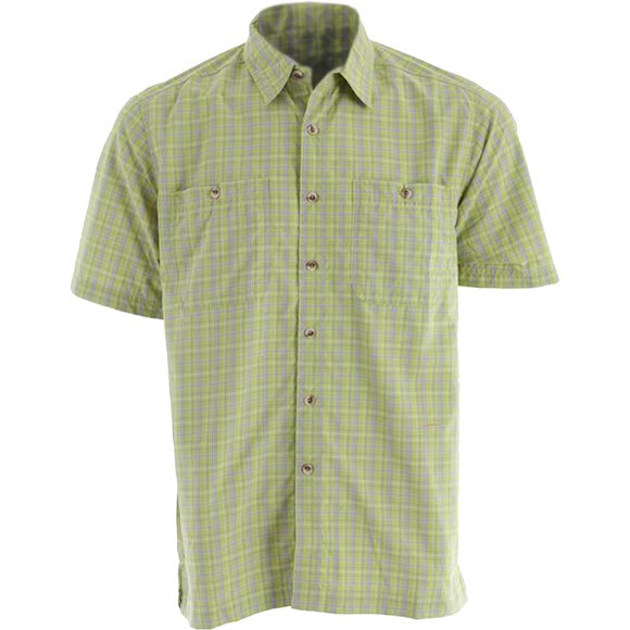 White Sierra Men's Richmond Point Short Sleeve Top Image