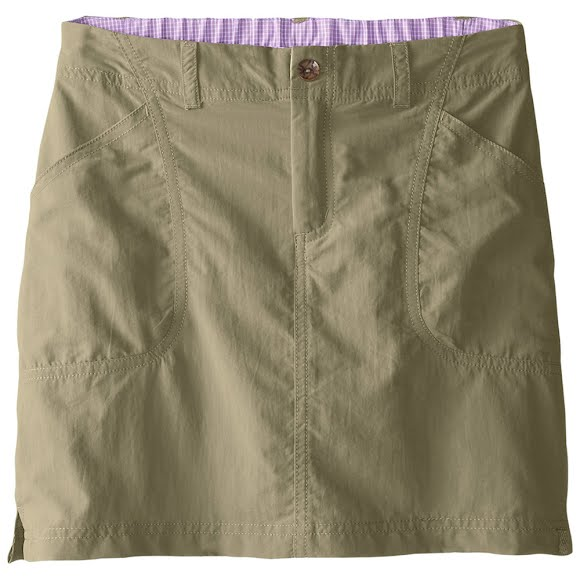 White Sierra Youth Girl's Canyon Skort Image