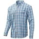Color Silver Blue Plaid
