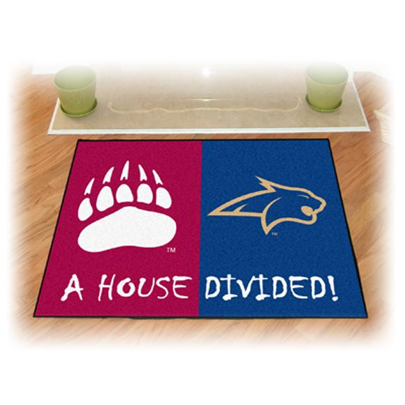 Fanmats University Of Montana/Montana State A House Divided Rug Image