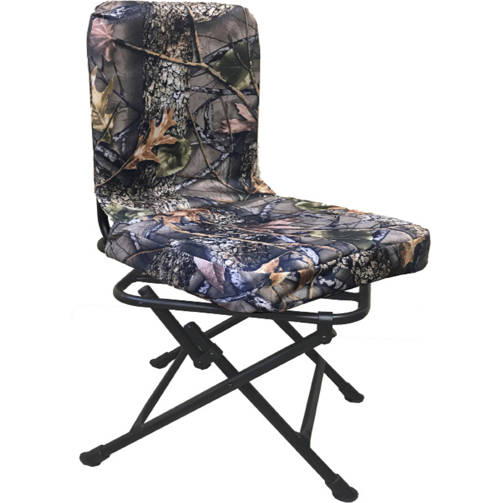 World Famous Folding Swivel Chair With Backrest Image